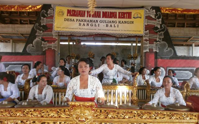 Album : Sekaa Gong Istri